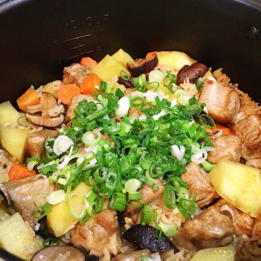 ✨一锅搞定 | 电饭煲排骨焖饭✨