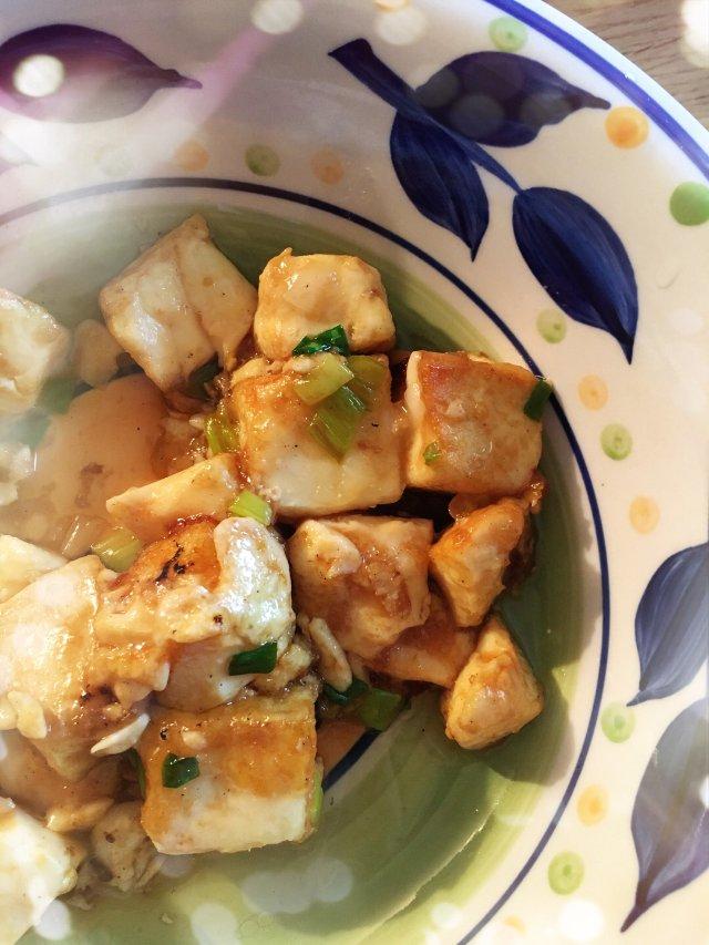 给娃做的自制日本豆腐