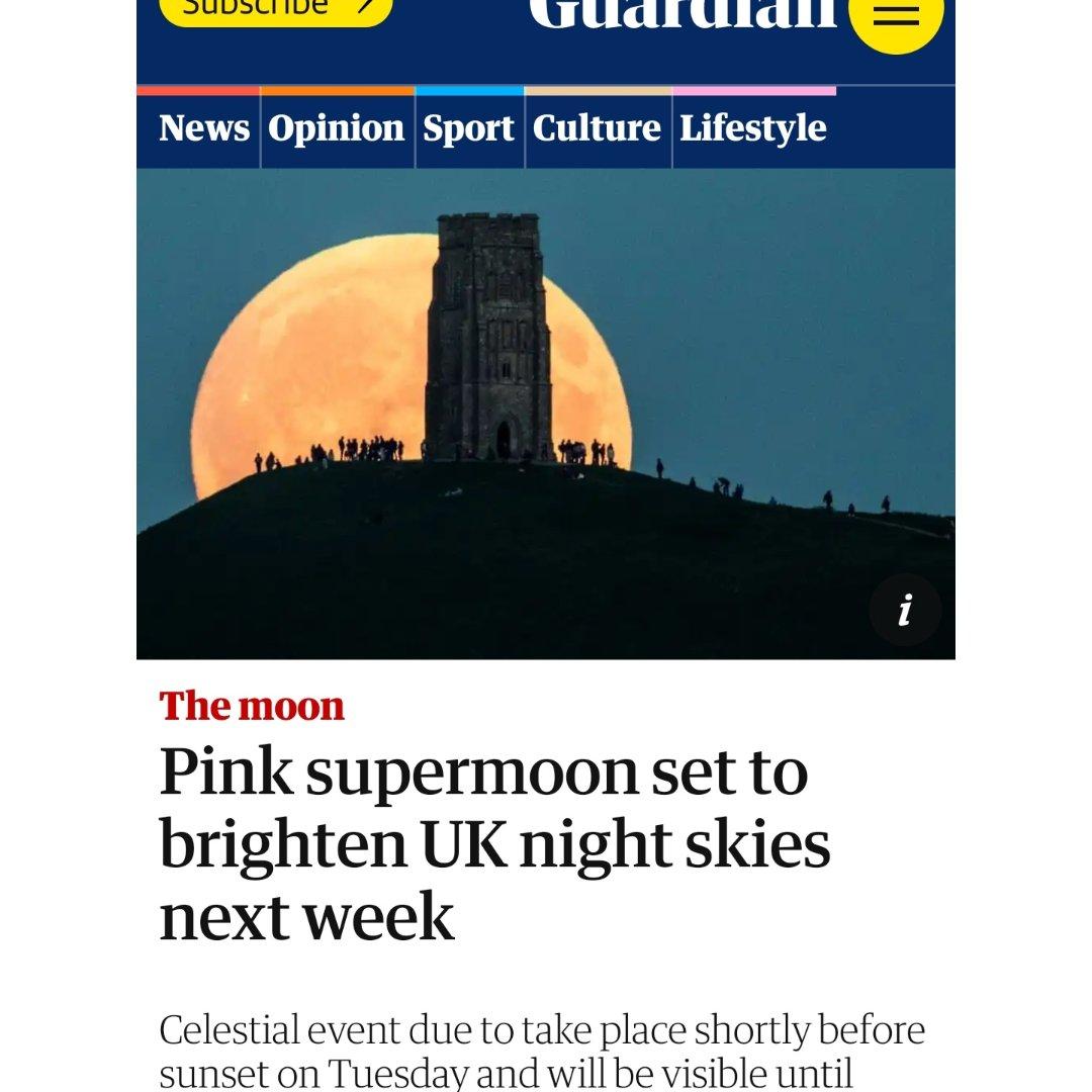 4月27号周二超级月亮...