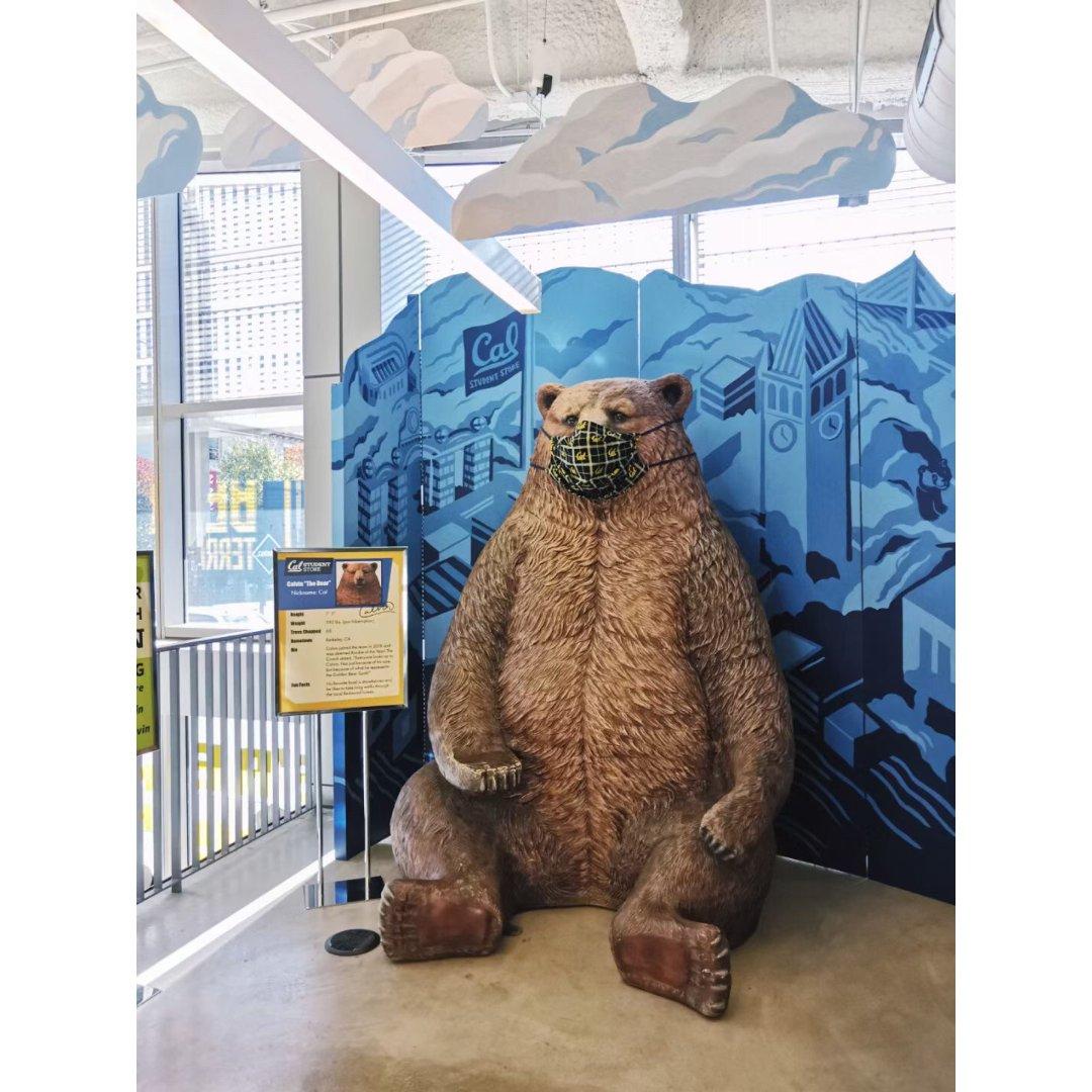 晒口罩熊😷🐻