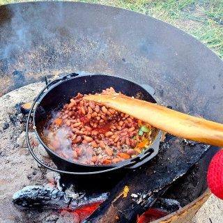 美食DIY 野营式Chili...