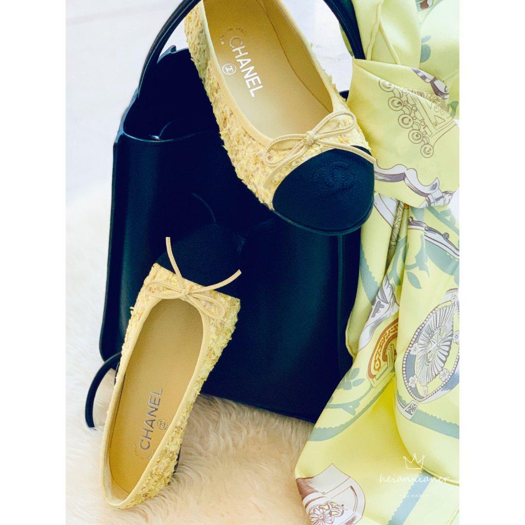 包包鞋子一个色🐝黑黄配