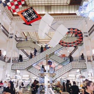 巴黎逛街 巴黎人最爱去的商场...