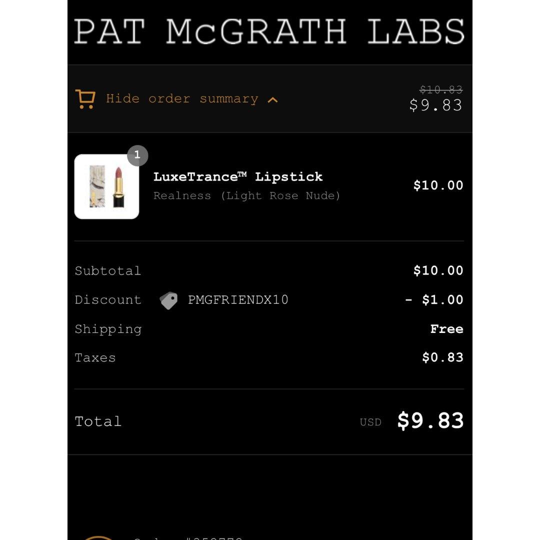 Pat  McGrath Lab口红💄
