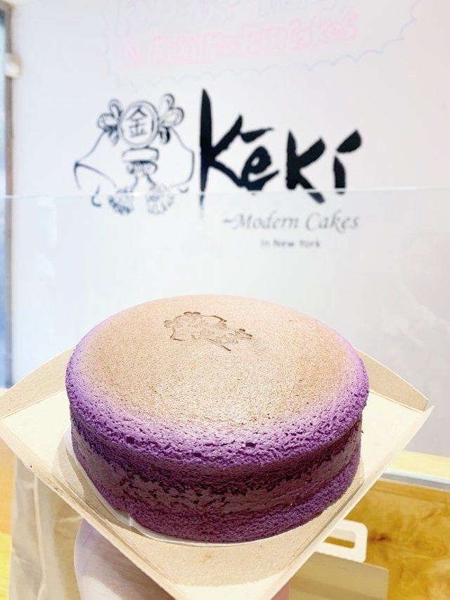 美味紫薯芝士蛋糕