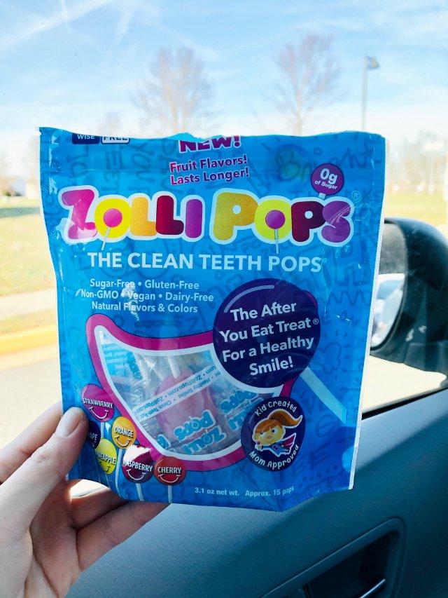 Zolli Pops 🍭 清洁牙齿棒棒糖