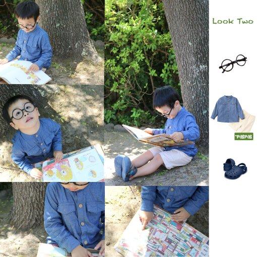 可酷可乖👦🏻5套男孩童装造型+后院拍写真分享