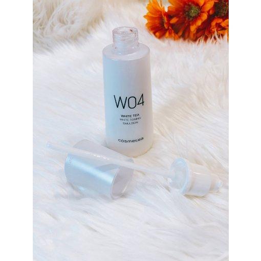 【微众测】Cosmetea W04白茶美白提亮柔肤乳