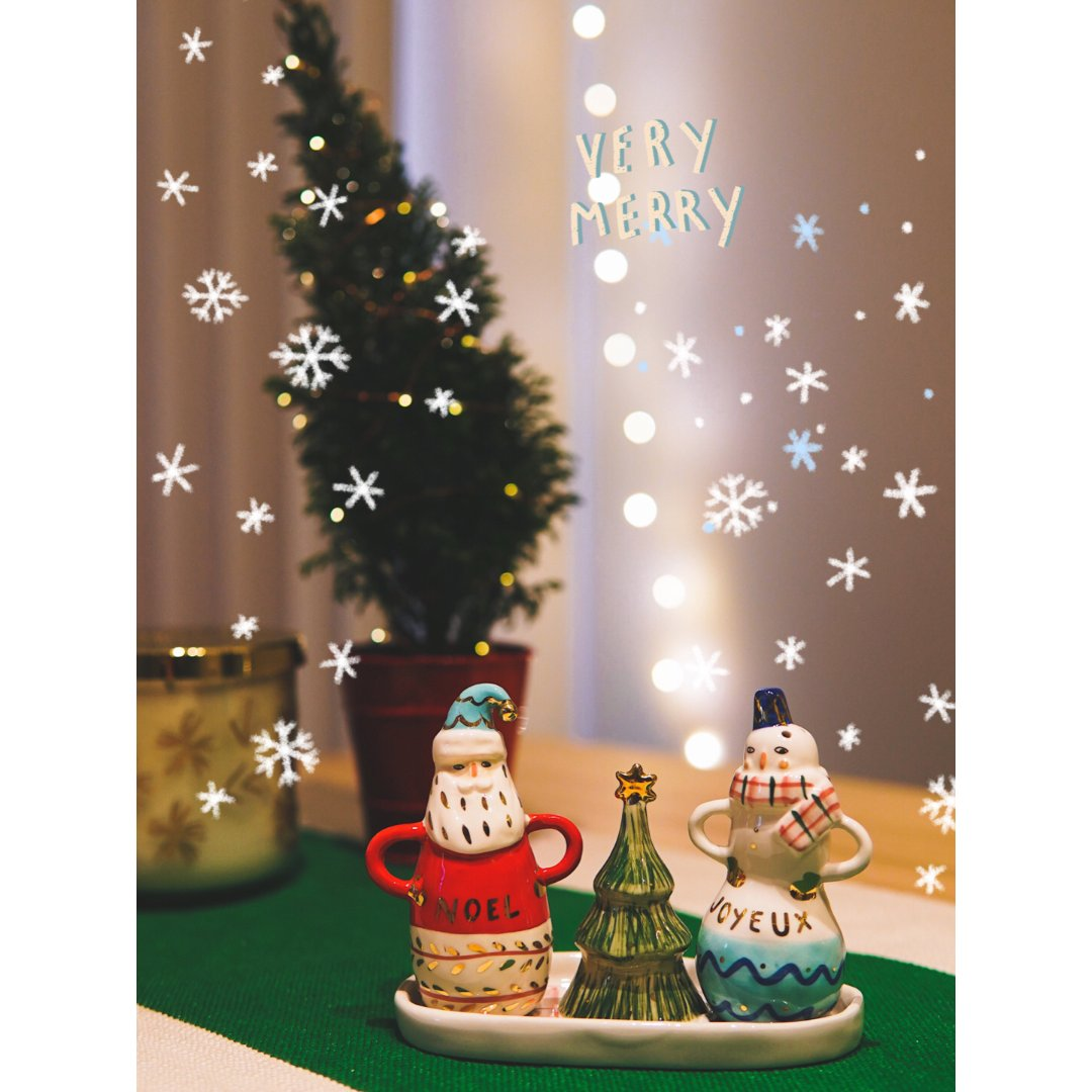 盐与胡椒已就位 | 圣诞快乐啊各位...