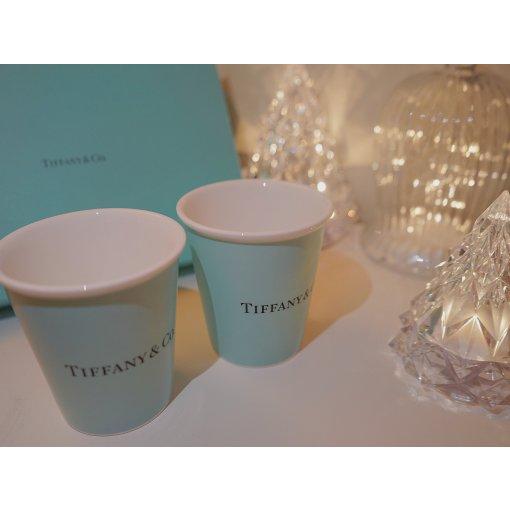 收到朋友送的圣诞礼物 Tiffany蓝 骨瓷杯💠