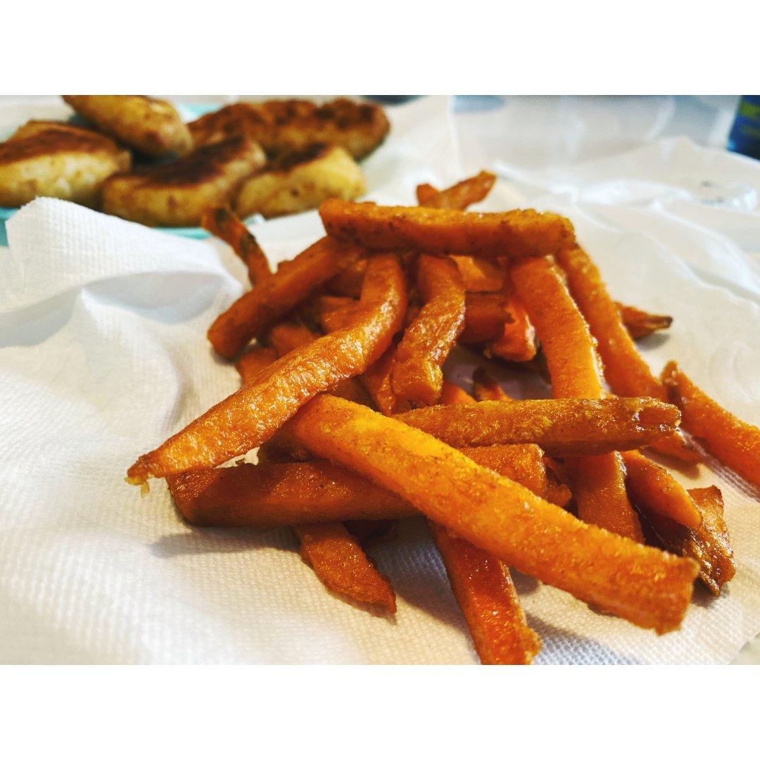 烤箱版红薯条儿