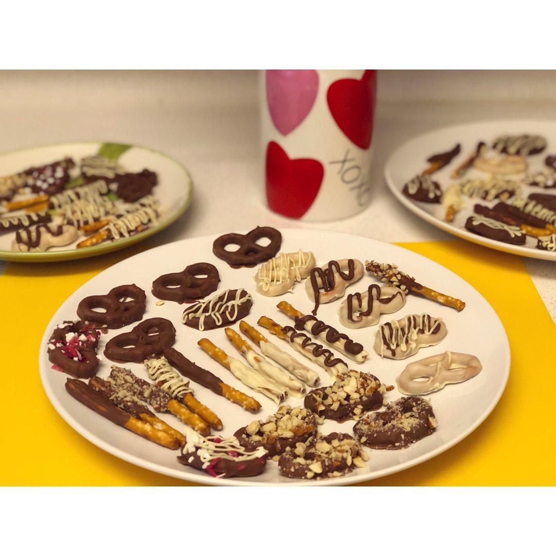 情人节巧克力小点心❤超好吃还爱心满满