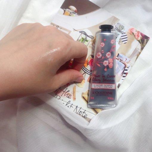 ❌干燥☑️滋润——欧舒丹樱花🌸护手霜