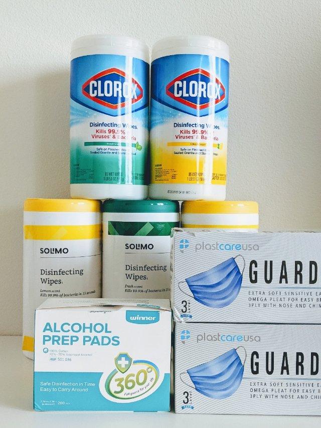 #家中囤货| 杀菌消毒用品阶段性盘点
