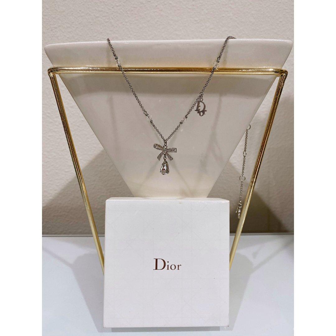 【黑五狂欢倒计时】Dior蝴蝶结锁骨链
