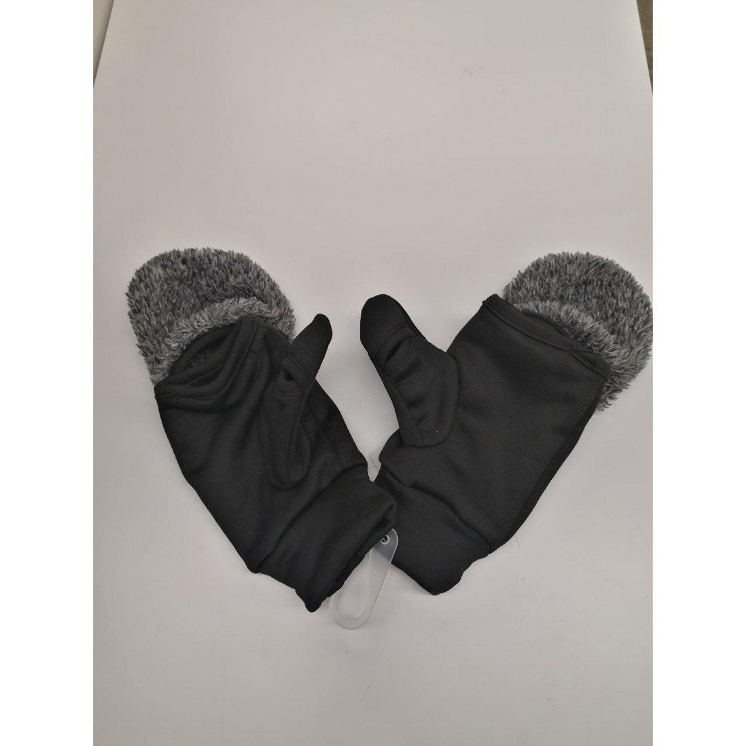 ❹可穿无指的手套