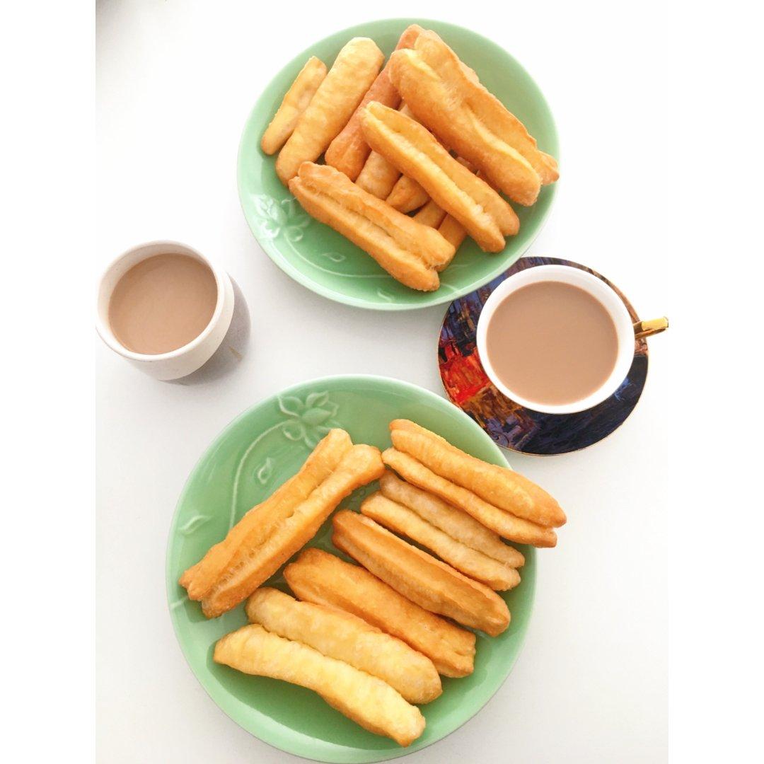☕️下午茶丨油条配咖啡😋👍...
