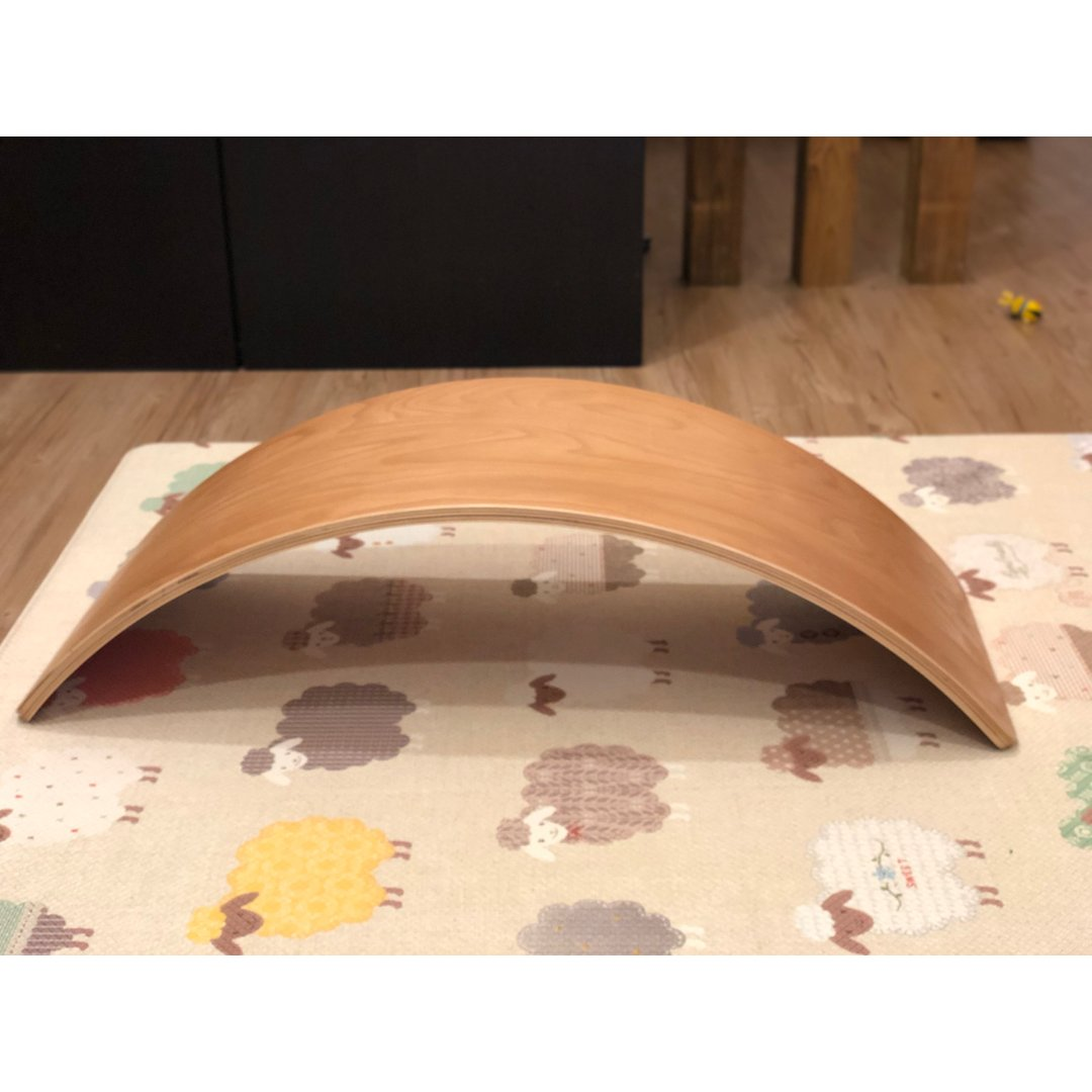 儿童平衡弯曲板