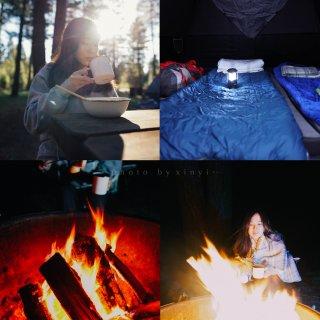 湾区Lake Tahoe露营 |  走,...