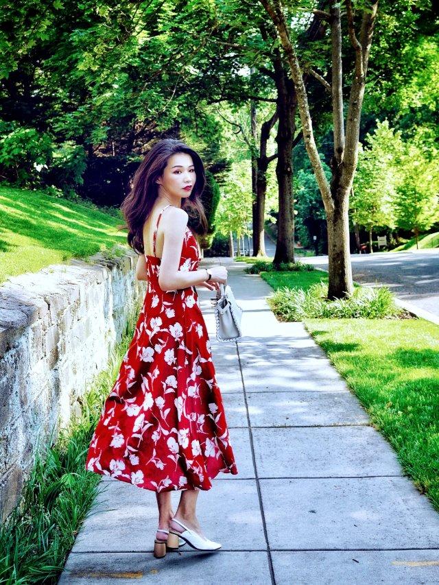 夏至未至 | 一袭红裙,摇曳生姿❤️
