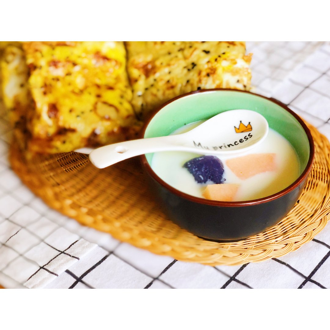 homemade芋圆