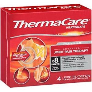 $5.64 经期腹痛也有效ThermaCare 发热止痛贴 4片装