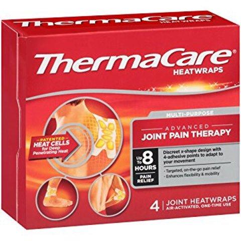 $5.43 包邮ThermaCare 发热止痛贴 4片装 经期腹痛也有效