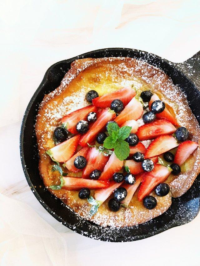 ✨早餐吃什么 |来一份荷兰松饼吧!✨