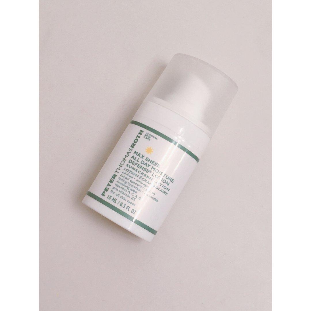 近日新开瓶的护肤品:防晒