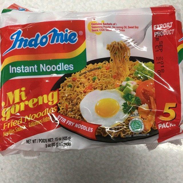 印尼干炒面 据说是世界十大之一? ...