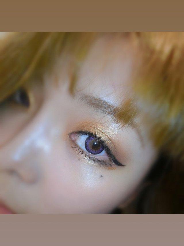 💜👀👀💜紫色美瞳