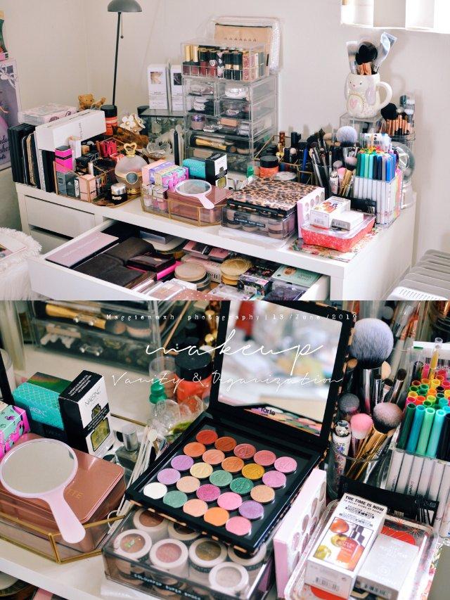 🤦🏻♀️整理梳妆台桌面