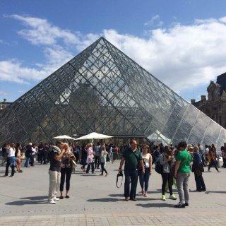 法国巴黎卢浮宫...