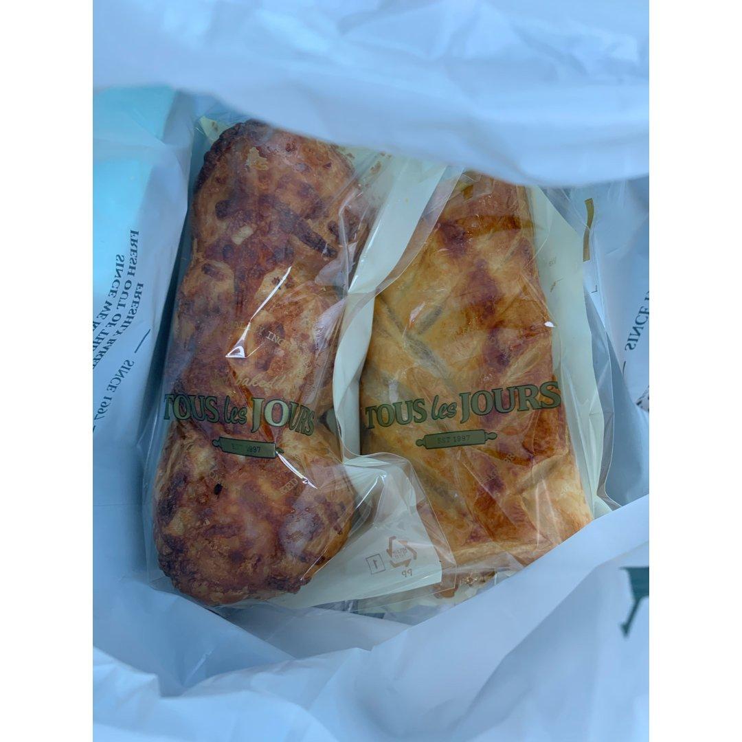 下半年①②韩国面包店面包