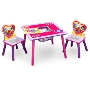 $26.99《汪汪队立大功》图案儿童桌椅套装附带收纳袋