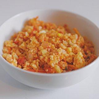 美食小摊  低脂番茄鸡蛋无米烩饭🍅...