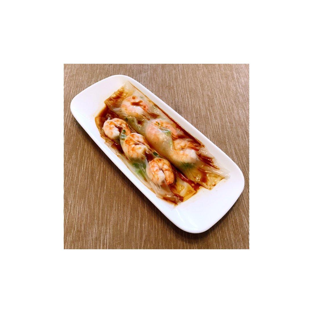 鲜虾肠粉10分钟懒人版。<br /...