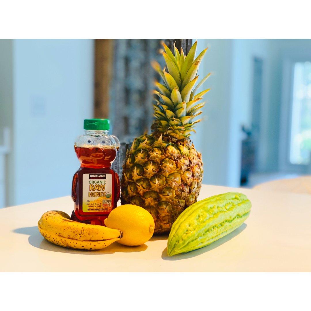 苦瓜菠萝汁🍹清热解毒、滋阴润燥全靠它😋