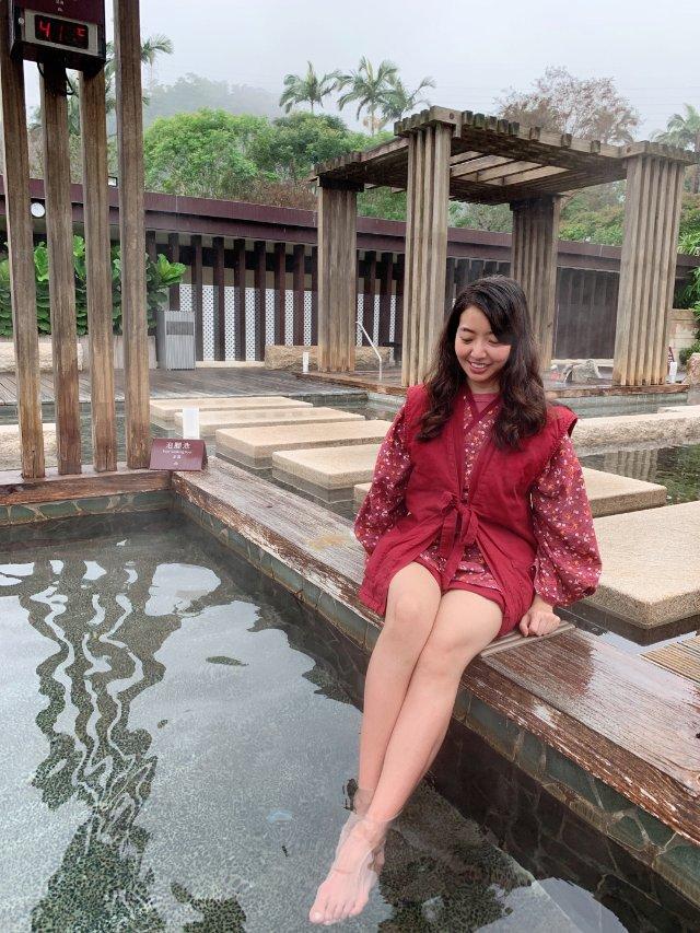 宜蘭之旅|室外溫泉魚與泡腳池