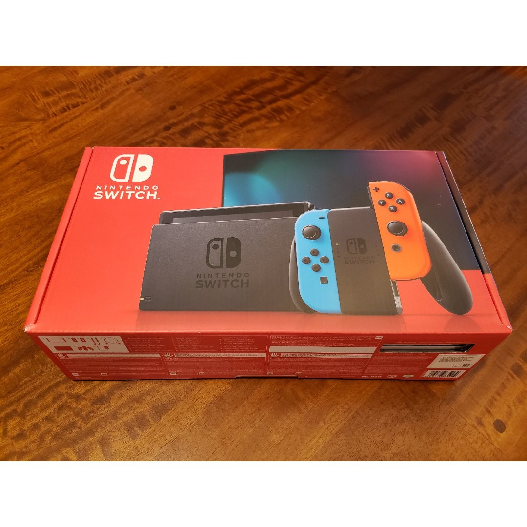 网红游戏机Nintendo Swi...