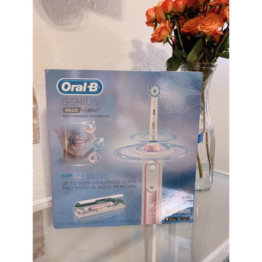 Oral-B 欧乐-B,Oral-B 9600,电动牙刷,买回来不闲置
