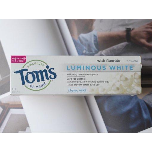 每天都要好好刷牙 | Tom's美白牙膏 | TJ买什么