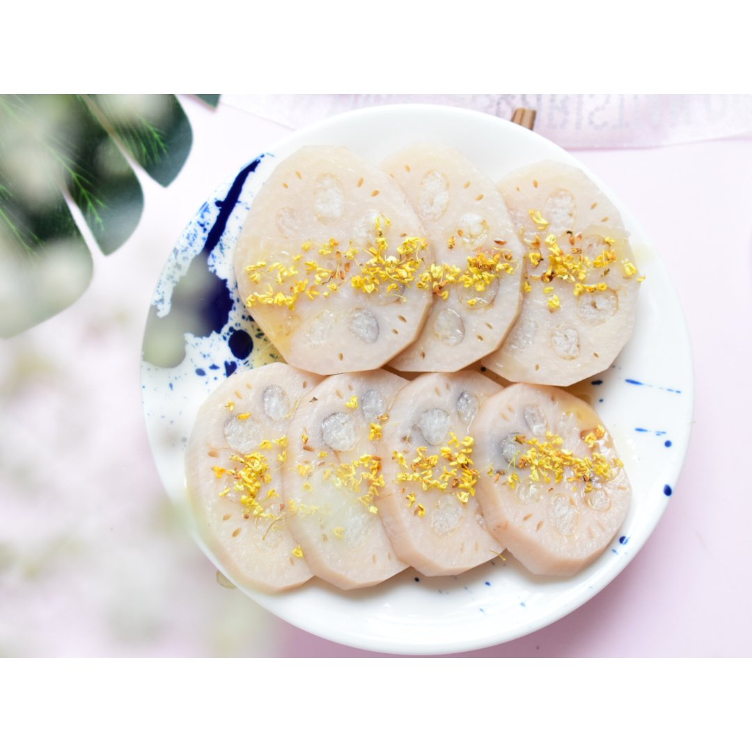 甜食|桂花糯米藕