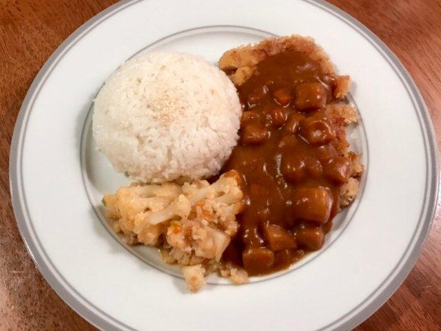 🌤三餐吃什么🌤咖喱鸡排饭