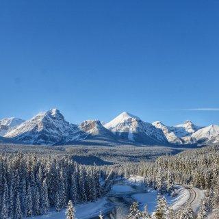 冬季班夫,大自然的大门永远为我们敞开...