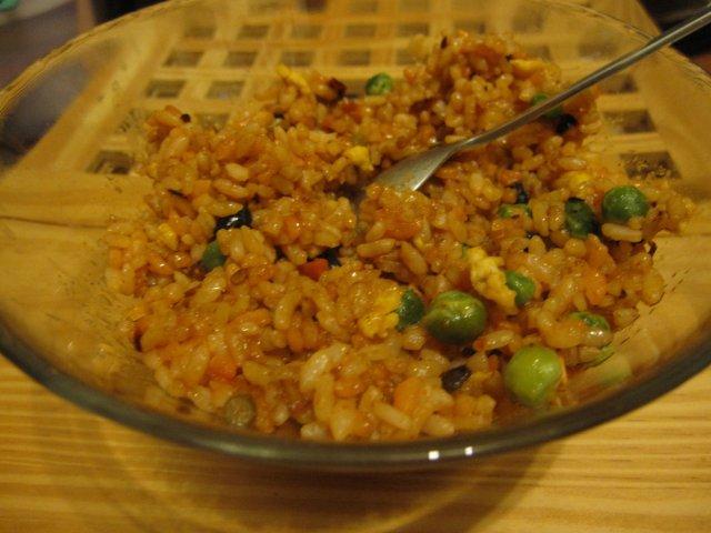 黄金蔬菜炒饭