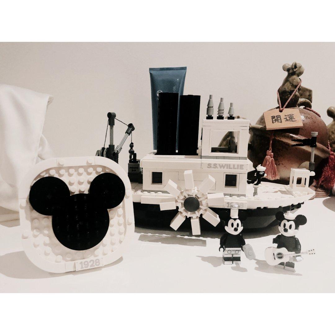 LEGO x 米奇90周年合作款蒸汽船🚢