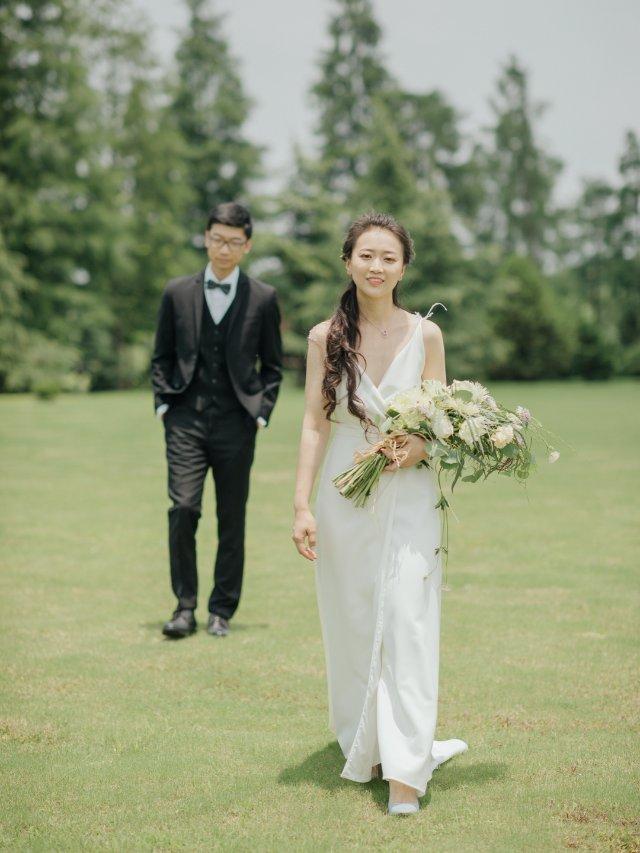 上海夏日的婚纱照 Part1