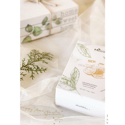 评测 |乌龙茶胶原蛋白保湿面膜