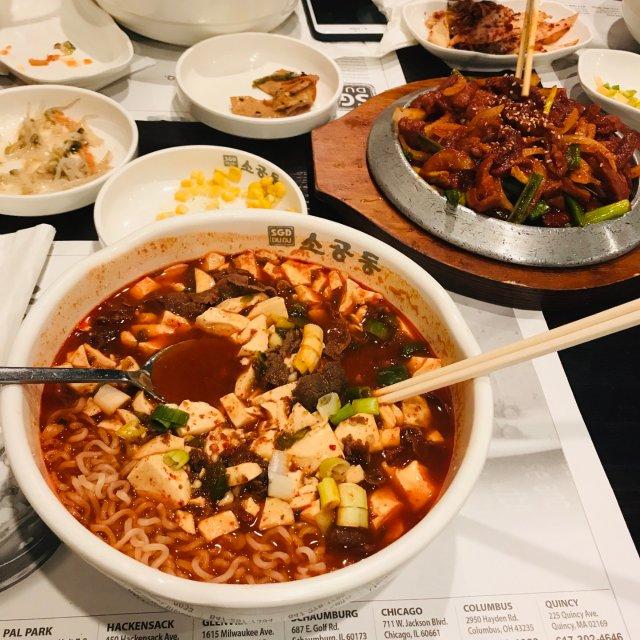 好吃的豆腐汤😋